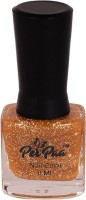 perpaa Top Coat Nail Enamel Gold Glitzy(8 ml) - Price 147 30 % Off