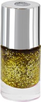 La Perla International Golden Sparkle Nail Paint Golden Sparkle(13 ml) - Price 99 60 % Off