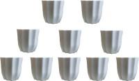 SHOPTICO Plant Pot Plant Container Set(Pack of 10, Plastic)