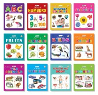 Picture Book Collections for Eary Learning (Set of 12) - My Book of ABC, My Book of Numbers, My Book of Colours & Shapes, My Book of Good Habits,My Book of Parts of Body, My Book of Flowers, My Book of Fruits, My Book of Vegetables, My Book of Birds, My Book of Domestic Animals, My Book of Wild Anim