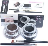 Music Flower Gel Eyeliner 6 g(BLACK & BROWN)