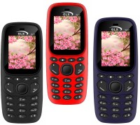 GLX W22 Pack of Three Mobiles(Red, Blue, Black)