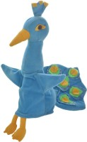 Cuddly Toys Peacock Hand Puppets(Pack of 1)
