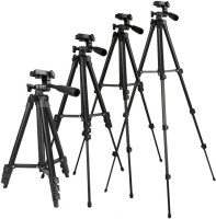 FKU Adjustable Mobile and Camera Stand Holder Tripod(Black, Supports Up to 2500)