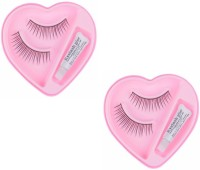 JAMPAK Styling Eyelash Day and Night Pack with Glue (Pack of 2)(Pack of 4) - Price 141 52 % Off