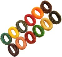 spincart Multicolor Designer Hair Rubber Band Set of 12, Ponytail Hair Rubber Band Holder For Girls and Women Rubber Band(Multicolor) - Price 139 53 % Off