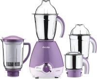 Preethi Lavender 600 Lavender 600 W Mixer Grinder (3 Jars, Purple)