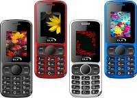 GLX W5 Pack of Four Mobiles(Red$$Black$$Blue$$White) Flipkart deals