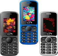 GLX W5 Pack of Three Mobiles(Black$$Blue$$White) - Price 1729 27 % Off
