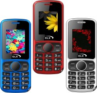 GLX W5 Pack of Three Mobiles(Red$$Blue$$White)