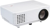 MANIA ELECTRO Portable RD805 Pico Mini LED Projector Digital Full HD 1080P Portable Video Data Proyector VGA HDMI TV Home Theater 2000 lm LED Corded Portable Projector(White, Black)