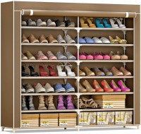 Furn Central Fabric Shoe Stand(14 Shelves)