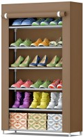 Furn Central Fabric Shoe Stand(6 Shelves)