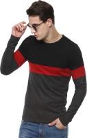 Urbano Fashion Solid Men's Round Neck Black T-Shirt
