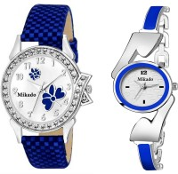 Mikado Blue dazzel Analog watch for women and Girls Watch  - For Women