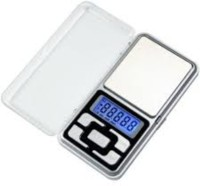 shrines Electronic Digital Pocket Weight Scale Weighing Scale(Silver)