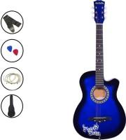 Medellin MED-BLU-C Linden Wood Acoustic Guitar(Blue)