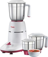 Prestige 50 550 Juicer Mixer Grinder(white & cherry, 3 Jars)