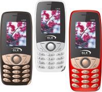 GLX U505 Pack of Three Mobiles(White$$Red$$Coffee)