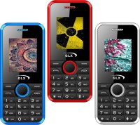 GLX W8 Pack of Three Mobiles(Red$$White$$Blue)