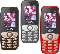 GLX U505 Pack of Three Mobiles(Black$$Red$$Coffee) - Price 2399