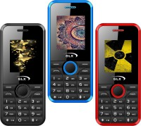 GLX W8 Pack of Three Mobiles(Red$$Black$$Blue) - Price 1729 27 % Off