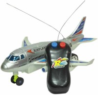 ZEUS RC Airplane Remote Controlled Plane Battery Operated Aeroplane Floor Running (Not Flying) Radio Control Toy Gift Item(Multicolor)