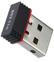 GADGET DEALS TTech Wifi Dongle 802.11N Wireless USB Adapter(Black)