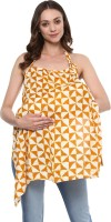 Wobbly Walk Wobbly Walk Nursing Cover / Feeding Cloak Abstract Print (Yellow) Feeding Cloak(Yellow)