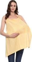 Wobbly Walk Wobbly Walk Nursing Cover / Feeding Cloak Striped Cotton (Yellow) Feeding Cloak(Yellow)