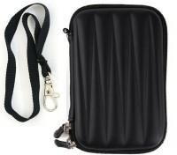 Etake Pouch For 2.5 inch Black ExternalHardDisk(For Seagate Backup Plus Slim 1 TB, Black color)