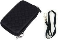 Etake Pouch For 2.5 Inch HDD Case Black External Hard Drive Case(For Hard Disk Case,HDD Case, Black color)