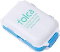 WDS 7 dAYS Folca Medicine Tablet Holder Organizer Pill Box - 003 ( White , Blue ) Pill Box(White, Blue) - Price 119 80 % Off