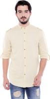 Dennis Lingo Men Solid Casual Mandarin Shirt