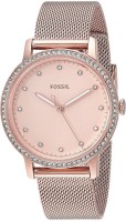 Fossil ES4364 Neely Three-Hand Pastel Pink Stainless Steel Watch Watch - For Women