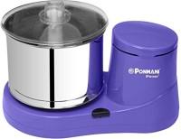 Ponmani Prime Plus 2Ltr 2 Stone Wet Grinder(Purple)