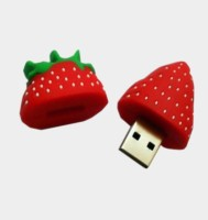 Microware Strawberry Shape 8gb Pendrive 8 GB Pen Drive(Red)