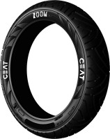 CEAT 102078 ZOOM 120/80-17 Rear Tyre(Street, Tube Less)