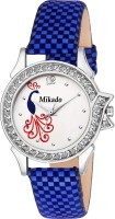 Mikado Dazy Fashion Blue Peackok Design analog watch for Women and Girls Watch  - For Women