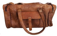 The Leather Bags House Travelling Duffel Bag Travel Duffel Bag(Brown)