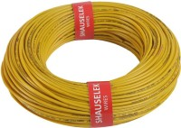 Shauselek PVC 1.0 sq/mm Yellow 90 m Wire(Yellow)
