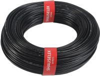 Shauselek PVC 1.0 sq/mm Black 90 m Wire(Black)