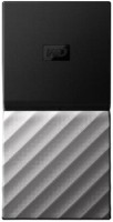 WD My Passport 256 GB Wired External Solid State Drive(Silver, Black)