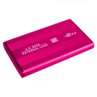 Etake HDD Hard Drive Enclosure Case 2.5 Inch Pink SATA Laptop Hard Disk Usb 2.0 Casing External portable Enclosure 2.5