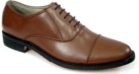 ASM Handmade Lace Up Shoes For Men(Tan)