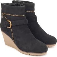 Miss CL By Carlton London MSCL_0009 Boots For Women(Black)