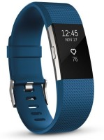 FITBIT Charge 2 Large(Blue Strap, Size : Large)