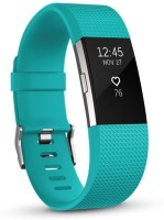 FITBIT Charge 2 Large(Sky Blue Strap, Size : Large)