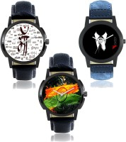 Foxter analogue stylish designer watches for boys and mens-FX-M-2017-8-441 Watch  - For Men