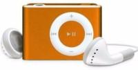 MOBONE Orange Mini MP3 Player(Orange, 0 Display)